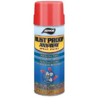 Rust Proof Any-Way Paint, 16oz Spray, Gold