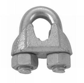 "Campbell 1/4"" Wire Rope Clip, Malleable, Galvanized"