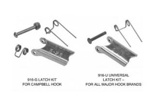 "Campbell Chain 3991407 Universal Replacement Latch Kit For Hook Sizes 11-31 (5/8"")"