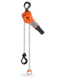 Columbus McKinnon Corporation 5310 CM Series 653 Lever Hoist, 3/4 Ton, 5' Lift, Hook mount, 1 reeve