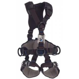 DBI-SALA 1113283 ExoFit NEX™ Rope Access/Rescue Harness with Chest Ascender - Black-Out, Small