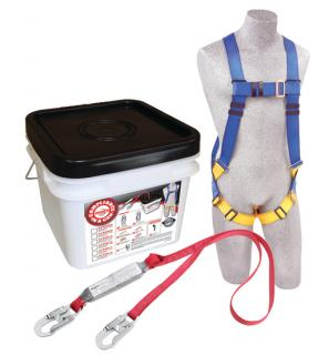 Compliance in a Can™ Light Roofer's Fall Protection Kit - 12-Pack