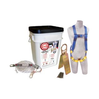 Compliance in a Can™ Roofer's Fall Protection Kit - 25-Pack