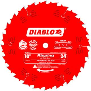 "10"" X 24 Tooth Ripping Saw Blade"