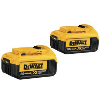 20V MAX* Premium XR Lithium Ion Batteries 2-Pack