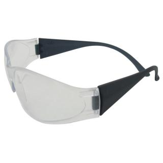 Boas Safety Glasses - Clear Lens Smoke Gray Frame