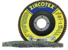 "Flexovit USA Inc. Z4532F Grinding, Blending & Finishing Flap Disc 4-1/2""X7/8"" 40G ZIRCOTEX Type 29"