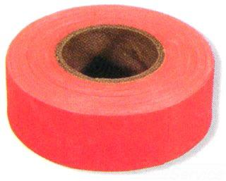 "Ftgo Flourescent Orange Flagging Tape1-3/16"" X 150'"