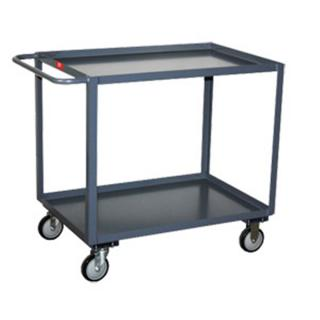 "Jamco Products SB248T5J Steel Service Cart w/ 5"" Thermorubber Casters"