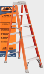 OSHA Step Ladder Label Kit - Must Specify Ladder #