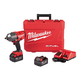 "M18 FUEL™ High Torque ½"" Impact Wrench with Pin Detent Kit"