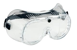 Direct Vent Goggles Clear