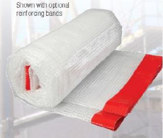 Primesource 620100CRFR 20' x 100' Woven Reinforced Poly Sheet