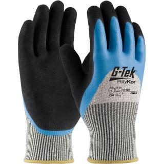 Protective Industrial 16-820-XXL G-Tek® CR Seamless Knit HPPE / Glass Glove with Acrylic Lining and Double-Dipped Latex Coated Micro-Surface Grip on Palm, Fingers & Knuckles, XXL