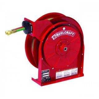"Reelcraft TW5400 OLP Spring Retractable Gas Welding Hose Reel 1/4""x25' 200 psi"