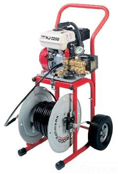 KJ-2200-C Indoor/Outdoor Drain And Sewer Jetting Machine