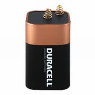 SELECTA PRODUCTS IN 1/1/CAB 20-G Battery Duracell Alkaline 6-Volt