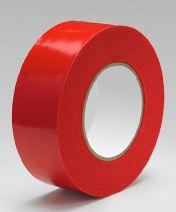 "Surface Shields PETR4180C 4"" x 60yds Red Polyethylene Tape"