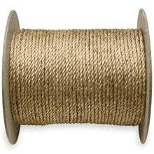 "Wall Industries Inc. 25-002 5/16"" Manila Rope (Sold Per Foot)"