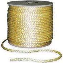 "Wall Industries Inc. P9M48S0600Y01 3/4"" Poly Rope (Sold Per Foot)"