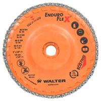 Walter Enduro-Flex Stainless Spin-on Flap Discs