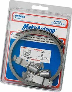 Breeze Make-A-Clamp Mini Kit- 8-1/2', 3 adj., 1 Splice