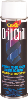Castle C2035 DRILL CHILL™ Cutting Lubricant, 20 oz Spay