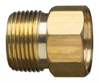 "Gilmour 305-7MP7FH 3/4"" Brass Male Hose Connector"