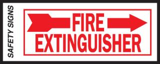 Hy-Ko Fire Extinguisher Sign