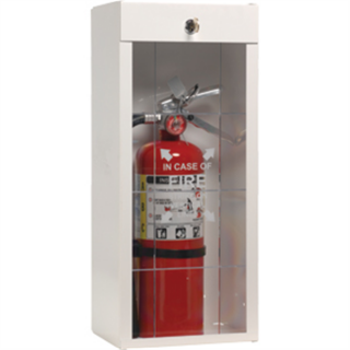 J L Industries 926LSJL Surface Mount Cabinet for 5, 6, and Tall 10 lb Extinguishers