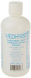 Medique 203-32-000455-0000 Eyewash, Bottle 32 Oz