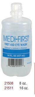 Medique 21508 Eyewash 8 Oz