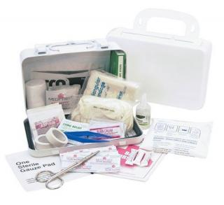 Medique 821M10P 10-Person Metal First Aid Kit