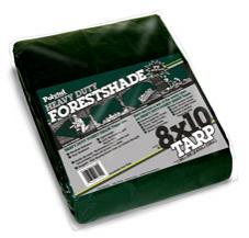 Polytuf 68Pt Super Duty Green Poly Tarp 6' X 8'