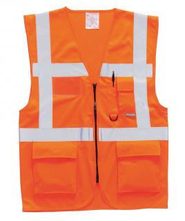 Berlin Executive Hi-Vis Vest, Orange Medium