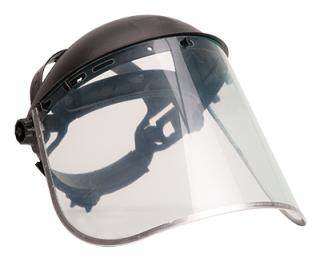 Portwest PW96CLR PPE Browguard Plus Clear