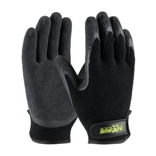 Protective Industrial 39-C1375XL Latex Crinkle Grip Coated Cotton/Polyester Gloves, XL