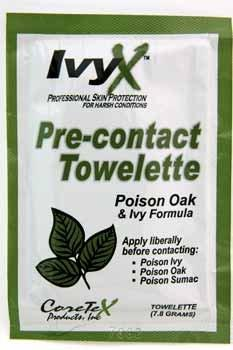 R3 Safety 122010IND Ivyx Towlette,Poison Ivy Pre-Treat Individual