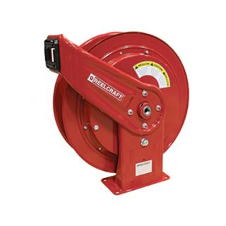 Heavy Duty Spring Retractable Hose Reel 1/2 x 65ft, 3250 psi, Oil Without Hose