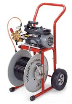 Kj-1750 Dual Pulse Water Jetter