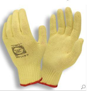 Safety First 3070 L Kevlar 7g Yellow Gloves, Large (1 Dozen)