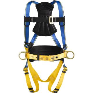 Blue Armor 1000 Construction Harness, Pass Through Legs, Double Extra Large