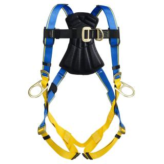 Blue Armor 1000 Climbing/Positioning Harness, Pass Through Legs, Double Extra Large