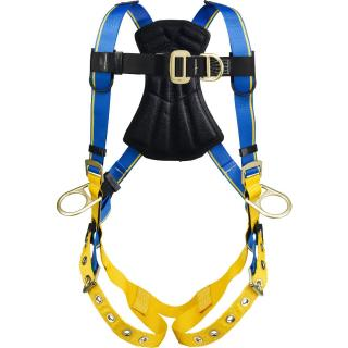 Blue Armor 1000 Climbing/Positioning Harness, Tongue Buckle Legs, Medium/Large