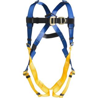 LITEFIT Climbing Harness, Pass Through Legs,Small